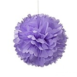 Weddingstar Vibrantly-Colored Small Paper Pom Pom (8 Colors)