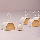 Weddingstar 'Cute as a Button' Mini Favor Box with Ribbon (Set of 10)