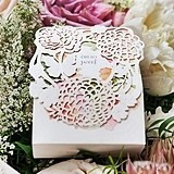 Weddingstar Floral Garden Motif 'Oh So Sweet' Favor Boxes (Set of 10)