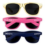 Personalized Bridal or Bachelorette Party Sunglasses (10 Colors)