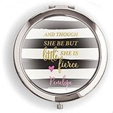 Weddingstar Designer Compact Mirror - Little But Fierce