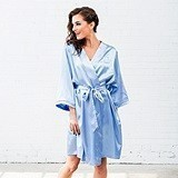 Weddingstar Personalizable Silky Kimono Robe (6 Colors)