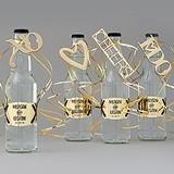 Weddingstar Matte-Gold-Metal Bottle Openers in 4 Modern Designs