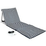 Weddingstar Personalizable Folding Beach Mat and Sun Lounger