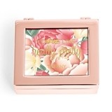 Small Modern Personalized Jewelry Box - Floral Print (3 Box Colors)