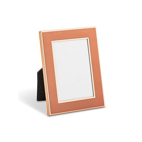 Weddingstar Small Easel-Backed Rose Gold Finish Picture Frame