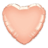Weddingstar Jumbo Rose Gold Foil Heart Balloon - 36