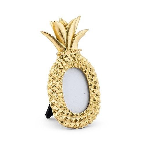 Weddingstar Mini Gold Pineapple Photo Frames (Set of 6)