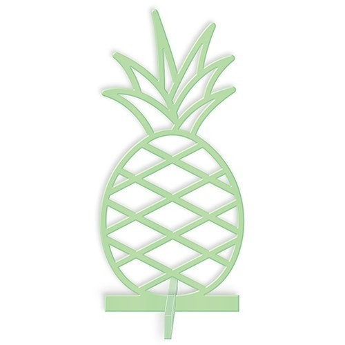 Weddingstar Acrylic Pineapple Tabletop Decoration In Daiquiri Green