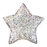 Metallic Silver Star Mylar Foil Helium Party Balloon Decoration