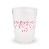 Personalized Frosted Plastic Party Cups - Princess Drinking Team (8)