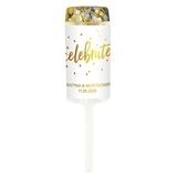 Weddingstar Personalized Push-Up Confetti Popper - Celebrate