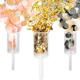 Weddingstar Push-Pop Confetti Popper - Blank (3 Color Choices)