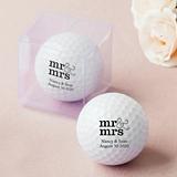 Weddingstar Personalized Golf Ball Wedding Favors (99 Designs)