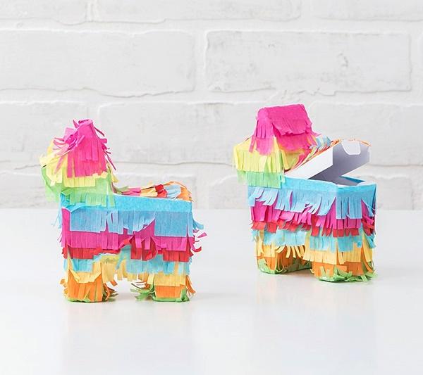 Weddingstar Mini Pinata Favor Box - Fiesta Donkey