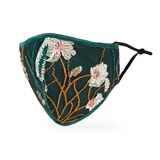 Luxury Washable Cloth Face Mask With Filter Pocket - Buds n' Blooms