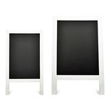 Weddingstar White Framed Rectangular Chalkboard Easel Sign (2 Sizes)