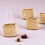 Weddingstar Natural Miniature Woven Beach Bags (Set of 6)