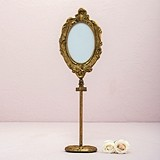 Weddingstar Oval Gold Baroque Standing Frame
