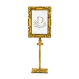 Weddingstar Rectangular Gold Baroque Standing Frame