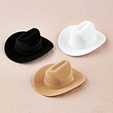 Weddingstar Decorative Miniature Cowboy Hats (Set of 12)