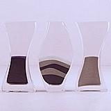 Weddingstar Customized Unity Sand Ceremony Nesting 3-Piece Vase Set