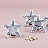 Small Wooden Starfish Photo Frames/Place Card Holders (Set of 8)