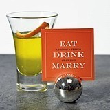 Personalized EAT, DRINK, MARRY Placecards/Well Wishes Cards (Set of 2)