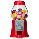 Mini Classic 'Dubble Bubble' Red Gumball Dispensers (Set of 2)