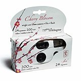 Weddingstar Cherry Blossom Design Single Use Camera Wedding Favor