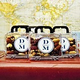 Weddingstar Monogrammed Miniature Travel Suitcase Favors (Set of 6)