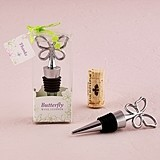 Weddingstar Stylized Butterfly Wine Stopper in Gift-Box