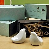 Weddingstar Porcelain Love Bird Salt & Pepper Shakers in Gift Package