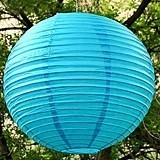 Weddingstar Vibrant Large Round Paper Lanterns (21 Colors)