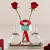 Weddingstar Personalized Red Rose Unity Ceremony Set