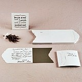Well Wishing Stationery Set with Instructional Sign (Set of 50)
