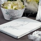 Weddingstar Love Bird in Classic White Guest Book