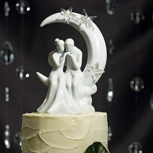 """Written in the Stars"" Bride and Groom Couple Figurine"