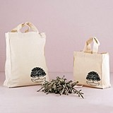 Weddingstar Family Oak Tree Design Personalized Tote Bags
