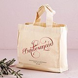 Expressions Design Personalized Bridesmaid Tote Bag