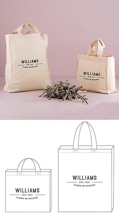 """Bistro Bliss"" Design Personalized Tote Bag"