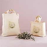 """Natural Charm"" Design Personalized Tote Bag"