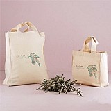 """Feather Whimsy"" Design Personalized Tote Bag"