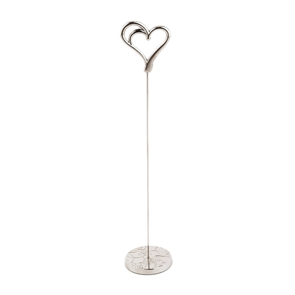 Double Heart Motif Stationery/Table Number Holders (Set of 6)