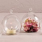 Weddingstar Blown-Glass Decorative Globes/Votive Holders (Set of 4)