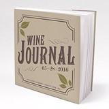 Personalized 'Vineyard Motif' Book-Style Notepads (Set of 12)