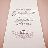Weddingstar Modern Fairy Tale Personalized Aisle Runner (2 Colors)