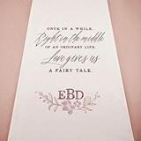 Weddingstar Modern Fairy Tale Personalized Aisle Runner (2 Colors)