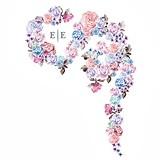 """""""Floral Dreams"""" Motif Personalized Backdrop (2 Colors)"""