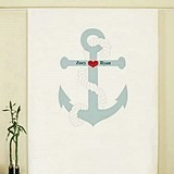 Weddingstar Nautical Anchor Design Personalized Photo Backdrop